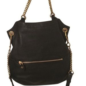 OrYany Black Selina Genuine Leather Crossbody Bag